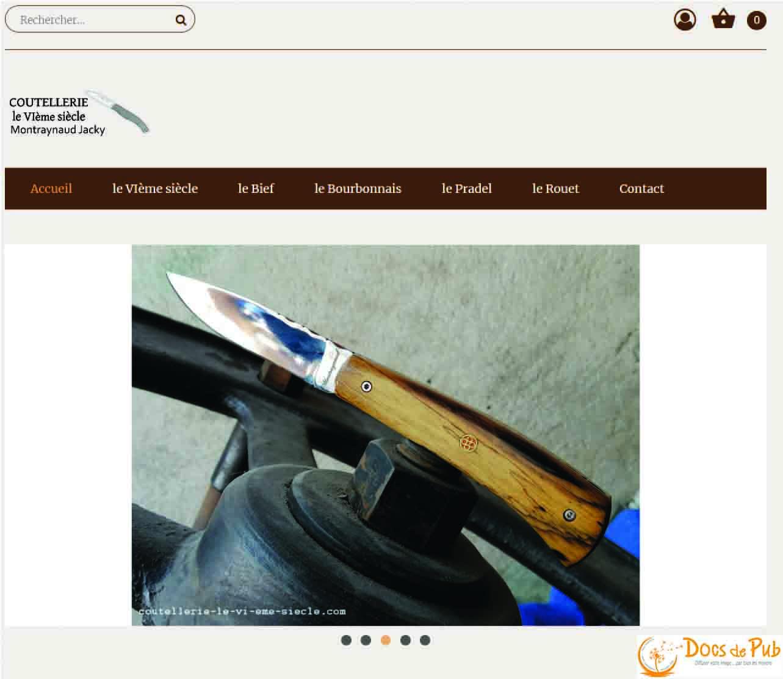 Boutique en ligne création et maintenance