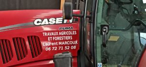 marquage véhicule agricole