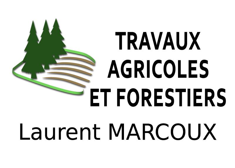 création logo ETA Marcoux entreprise travaux agricoles et forestiers