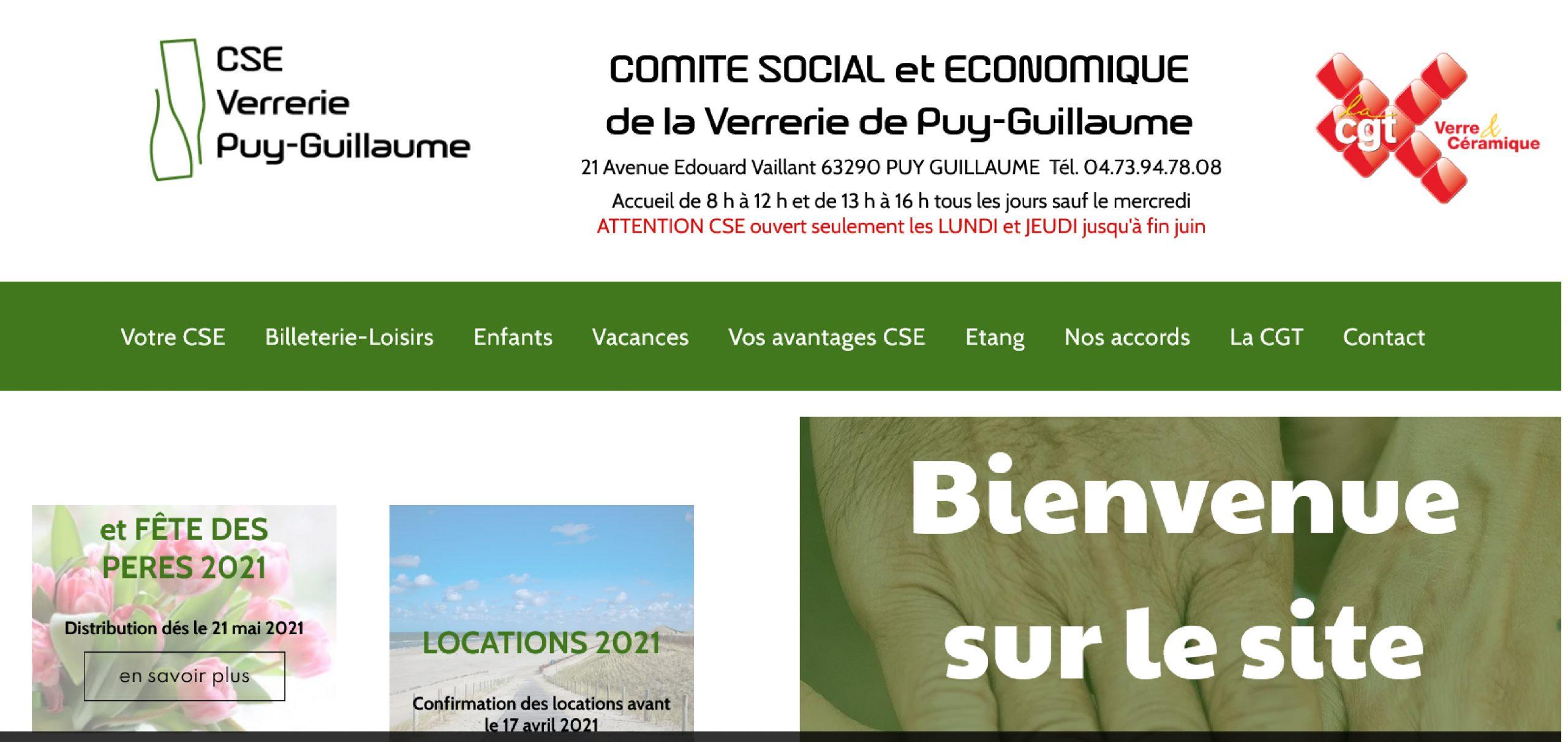 site web comité d'entreprise